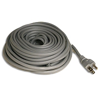 Roof Gutter Cables Gray